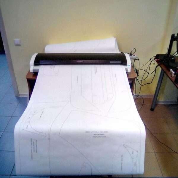 Сканирование огромных форматов в Самаре