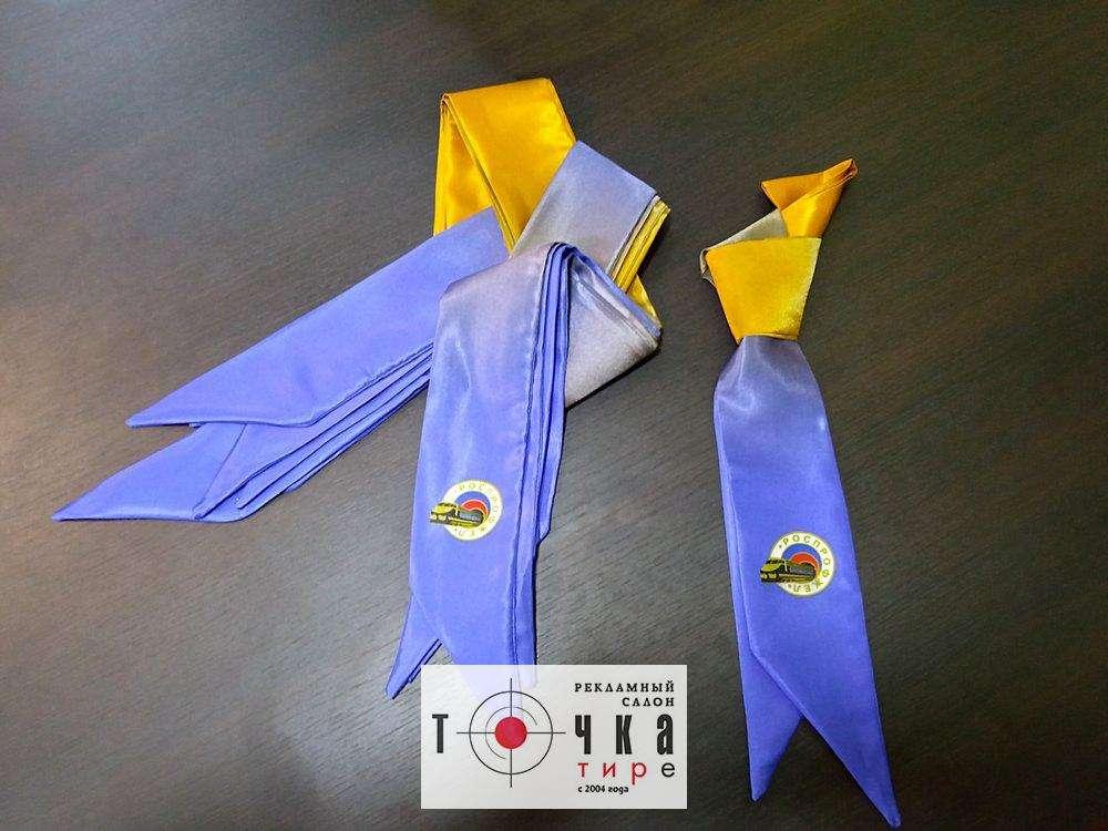 Изготовление шарфов и галстуков
