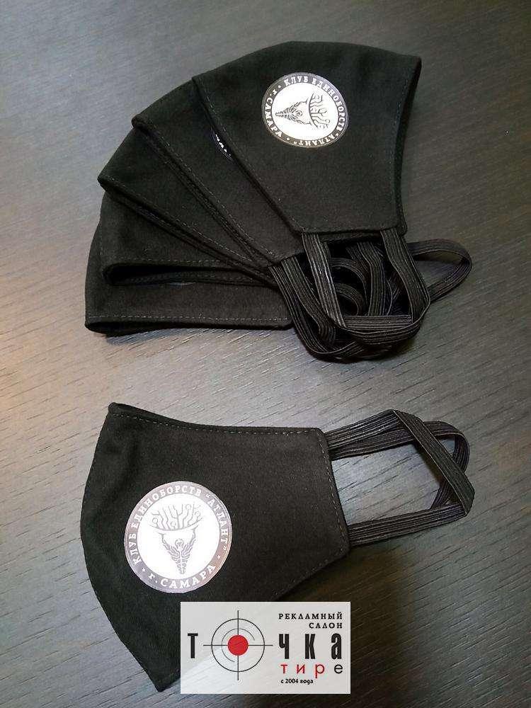 Защитные маски с логотипом заказчика