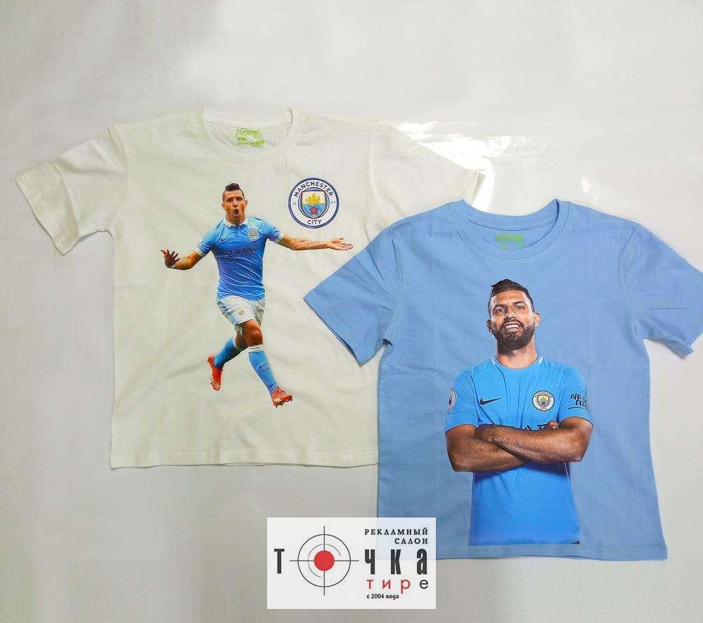 Детские футболки с изображением в подарок